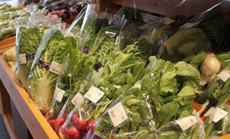 新鮮野菜、毎日入荷!