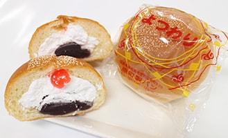 元祖よつわりパン(148円)